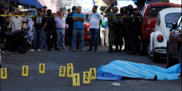 Meksika'da Ekim ayında 3 bin kişi öldürüldü