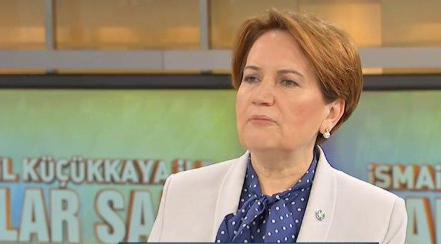 İP Genel Başkanı Meral Akşener'den
