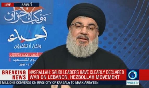 Nasrallah'tan Suudilere: Hariri'yi serbest bırakın