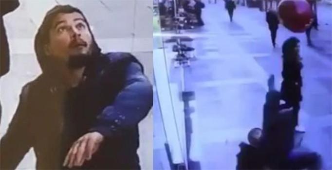 Balona rövaşata atan adam hastaneye kaldırıldı