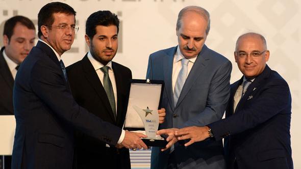 Bakan Zeybekci ödül verdiği Sarraf için konuştu: Canı cehenneme