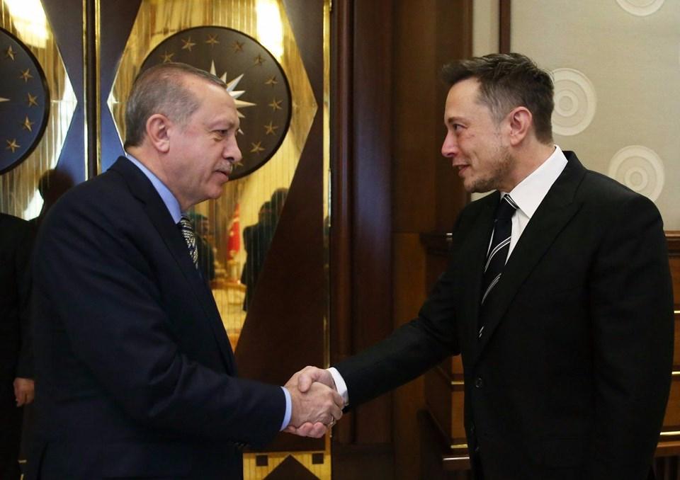 Elon Musk, Erdoğan ile görüşüyor