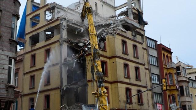 Büyük yıkımdan sonra: Tarlabaşı yağmasına mahkemeden iptal