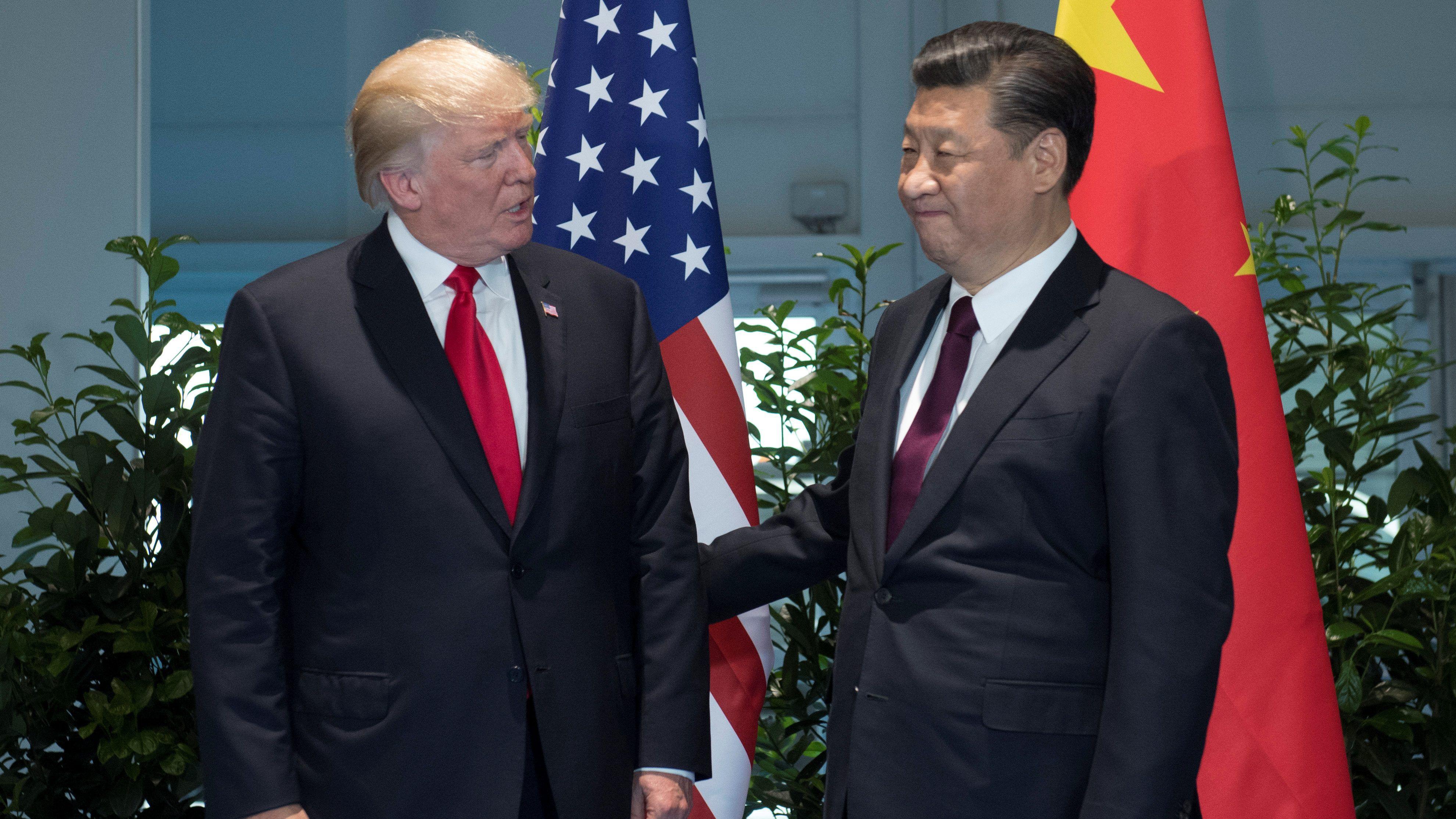 Trump: Xi Jinping ile konuştum, KDHC'ye yaptırım uygulanacak