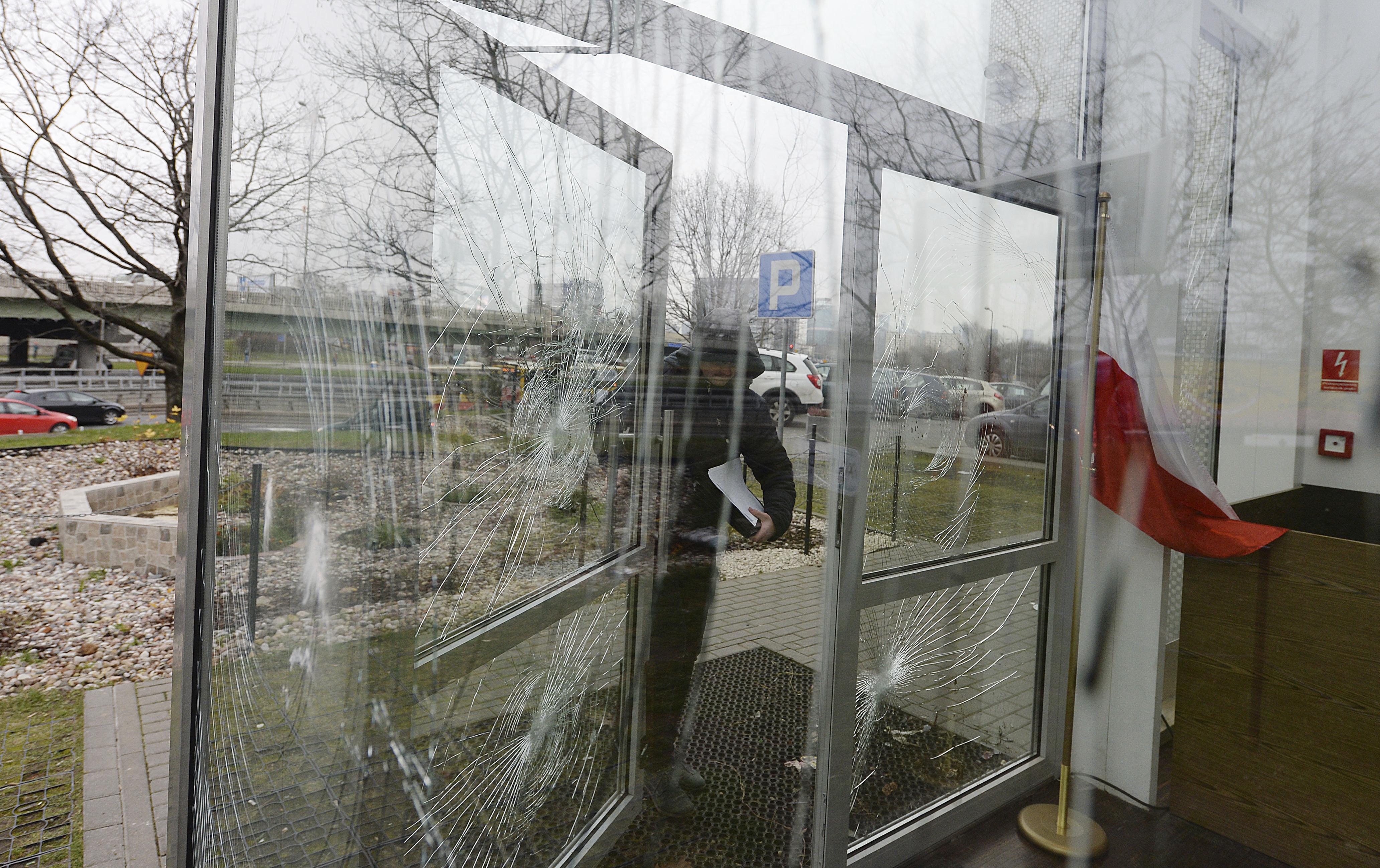 Varşova'da Müslüman Kültür Merkezine saldırı