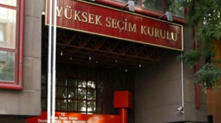 YSK teklifi meclise sunuldu