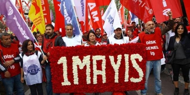Türkiye'ye 1 Mayıs mahkumiyeti