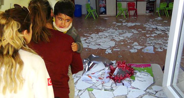 Anaokulunun çatısı çöktü: 5 öğrenci yaralandı