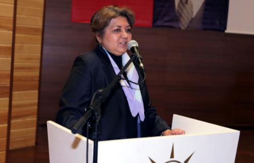 AKP'li yönetici buyurdu: Bizim Cumhurbaşkanımız o kadar büyük bir insan ki, Allah tarafından gönderilmiş