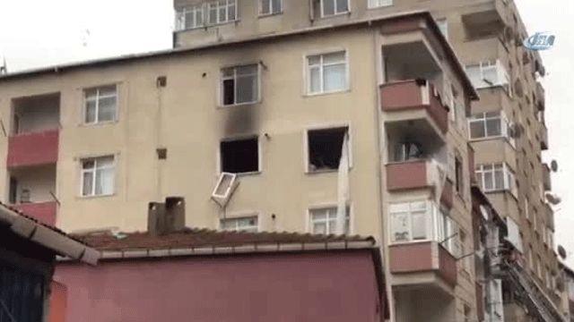 Pendik'te binada patlama: Yaralılar var