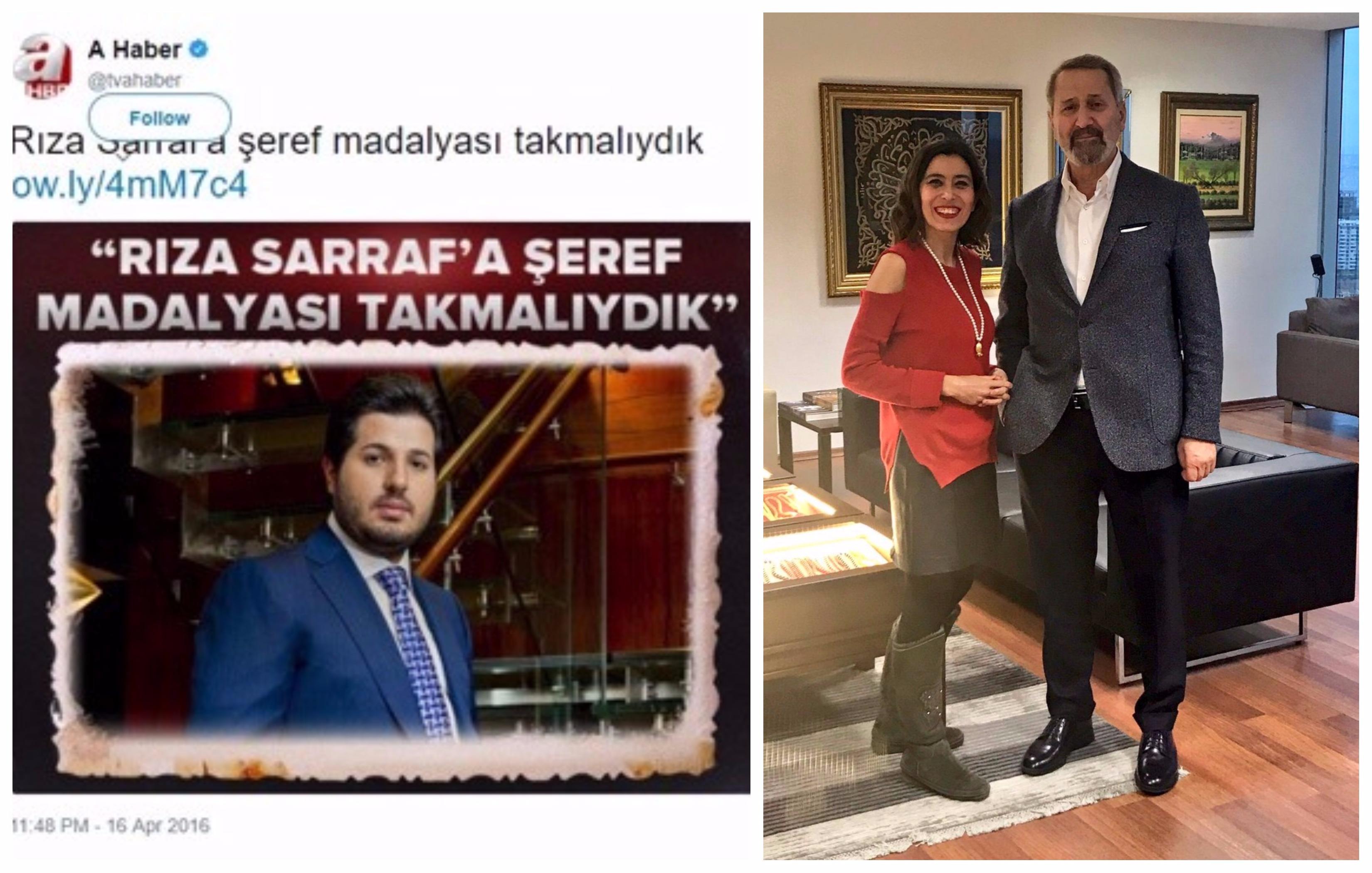 Yandaş kanal Sarraf'ı sildi, muhabiri Çağlayan'la fotoğraf paylaşıp küfür etti: