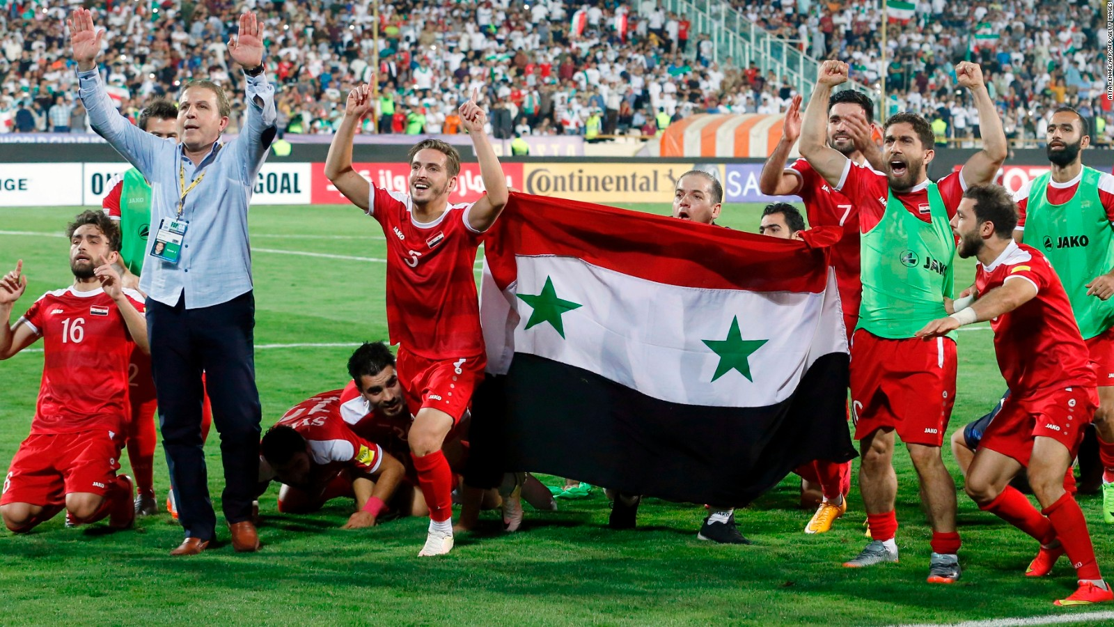 Suriye'den FIFA'ya mesaj var