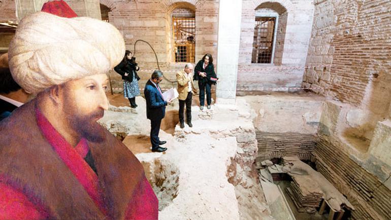 Topkapı Sarayı'nda yeni keşif