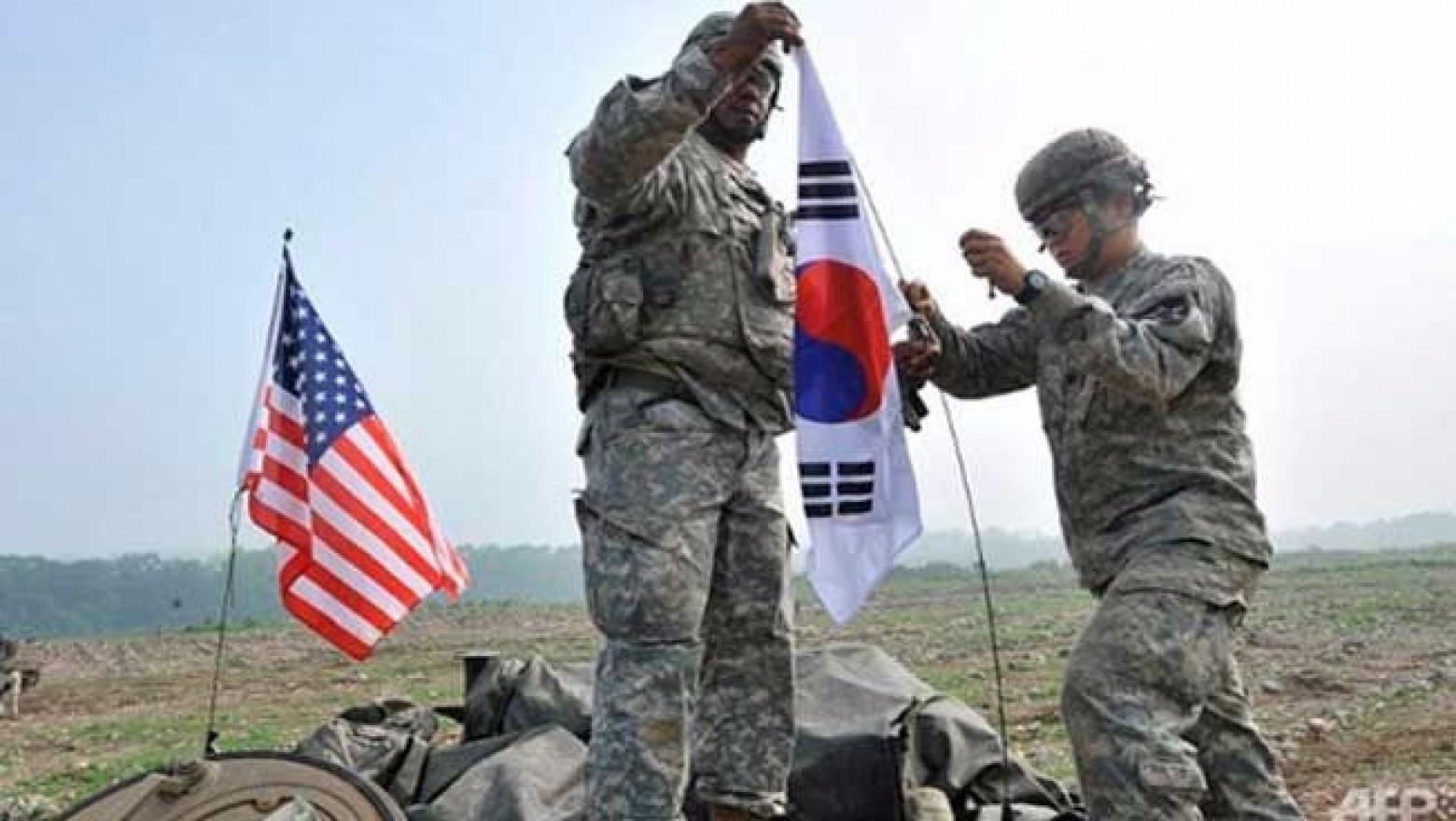 ABD ve Güney Kore'den ortak tatbikat