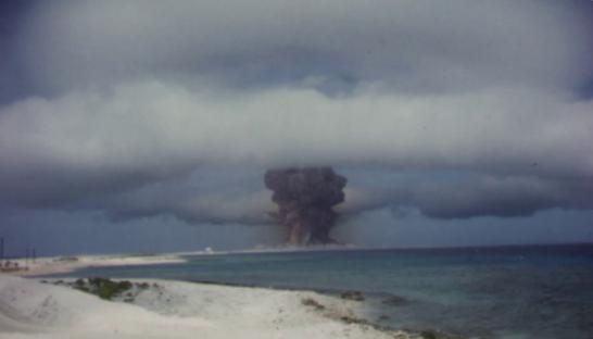 VİDEO | ABD'de Soğuk Savaş dönemi nükleer denemelerin görüntüleri yayınlandı