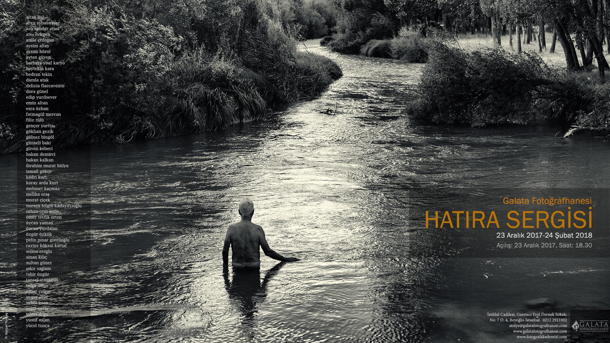 Galata Fotoğrafhanesi'nden 'Hatıra Sergisi'