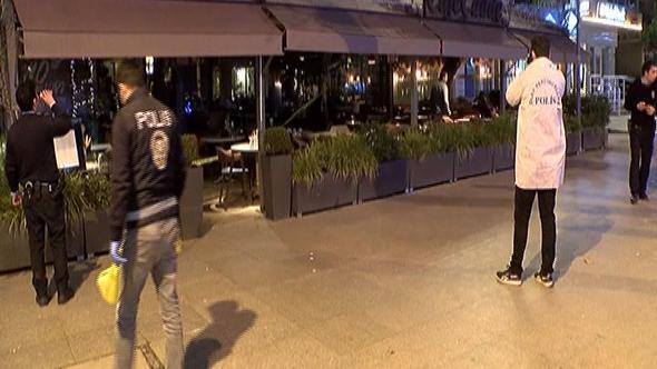 Kadıköy'de kafede silahlı saldırı