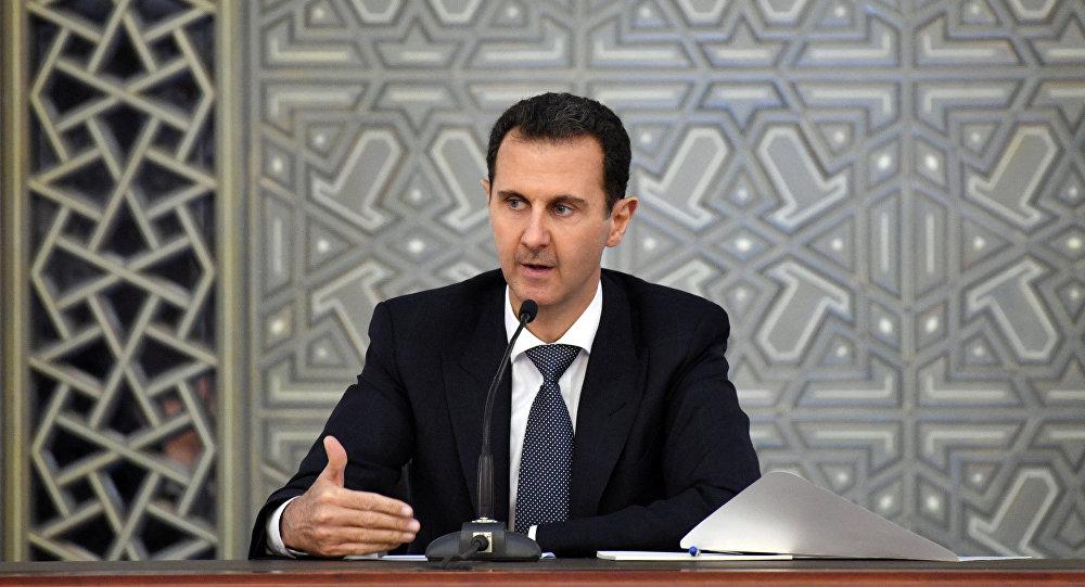Esad: Herkes IŞİD'e odaklanırken Batı destekli terörizm gözden kaçırılıyor