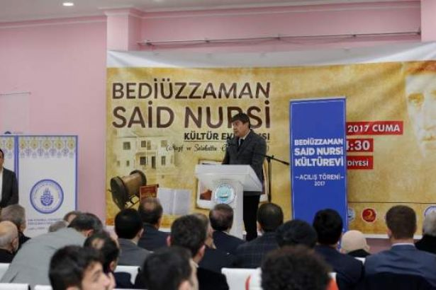 AKP'li belediye 'Said Nursi Kültür Evi' açtı!