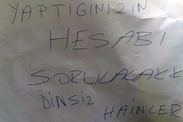 CHP'yi'Hesabı sorulacak dinsiz hainler' diye tehdit edenler yakalandı