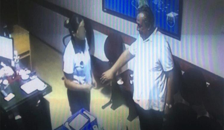 Belediye Başkanı belediye güvenlik görevlisini taciz etmiş