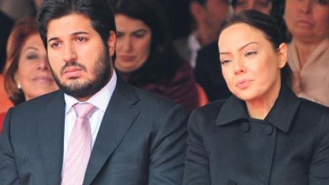 'Ebru Gündeş ABD'de Sarraf'la görüştü'