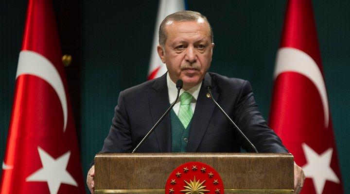 Erdoğan'dan BAE Dışişleri Bakanı'na