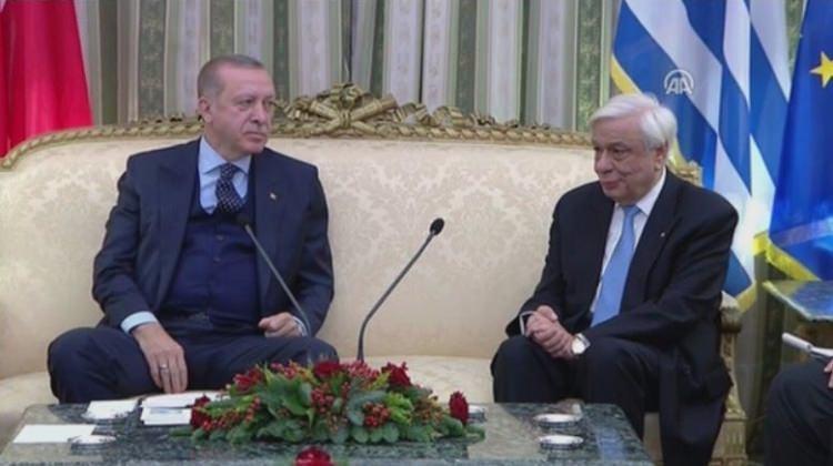 Yunanistan Cumhurbaşkanı'ndan Erdoğan'a: Yunanistan'da anayasa gereği cumhurbaşkanı sizin yetkilerinze sahip değil