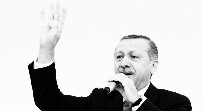 Erdoğan: Dik durmayı ondan öğrendik