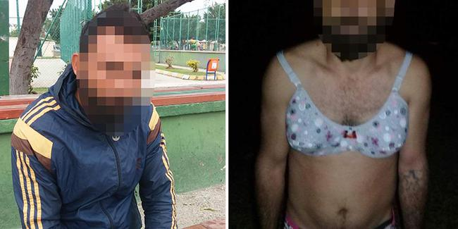 Sevgilisinin kocası, kadın iç çamaşırları giydirip tecavüz etti