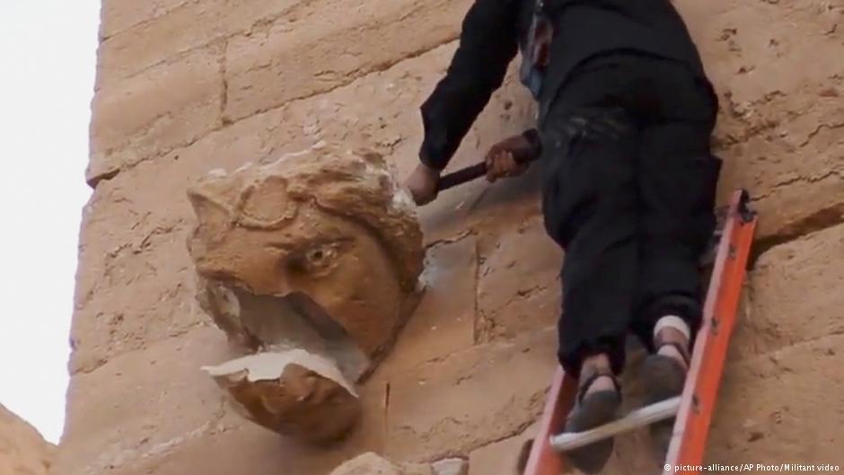 Irak'ta IŞİD'den geriye kalan kültür mirası