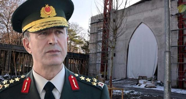 Milli Savunma Bakanı'ndan Hulusi Akar'ın cami yaptırmasıyla ilgili açıklama