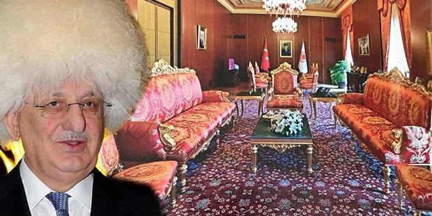 Meclis Başkanı Kahraman'ın 'makam odası' pişkinliği: Aslan yatağından belli olur