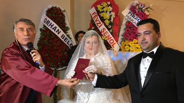 İlk müftü nikahı kıyıldı!