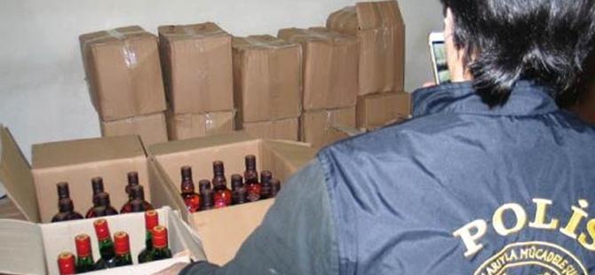 Yeni yıl öncesinde 22 ilde kaçak içki operasyonu yapıldı