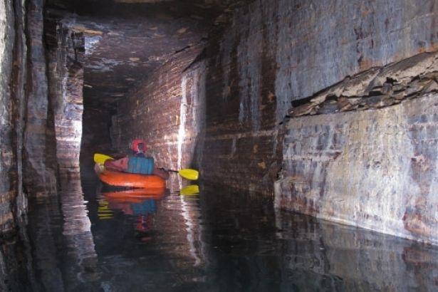 Montreal'in altında 15 bin yıllık devasa mağara keşfedildi