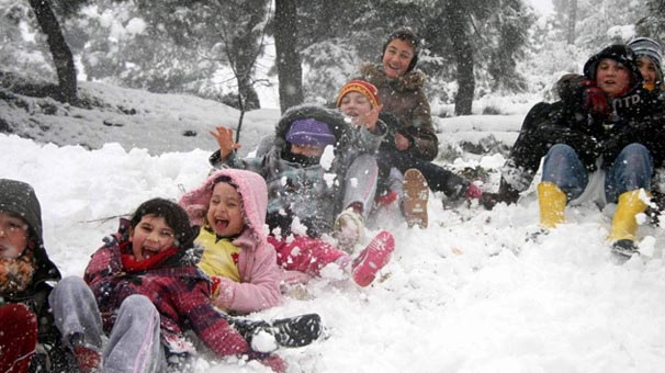 Düzce'de kar tatili
