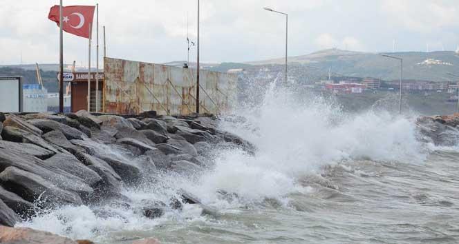 Kuzey Ege denizi için fırtına uyarısı