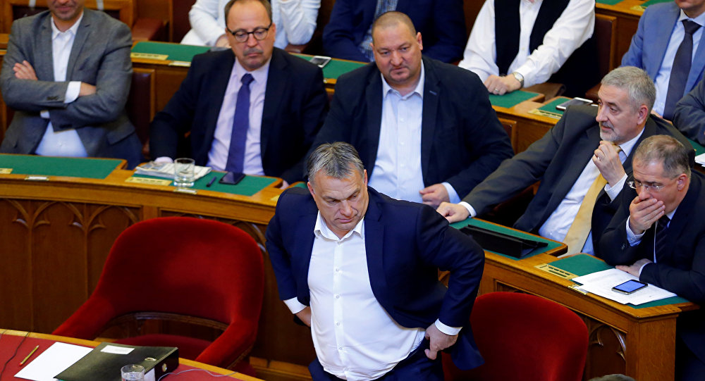 Macar Parlamentosu'nda'Soros Planı' karşıtı tasarı kabul edildi