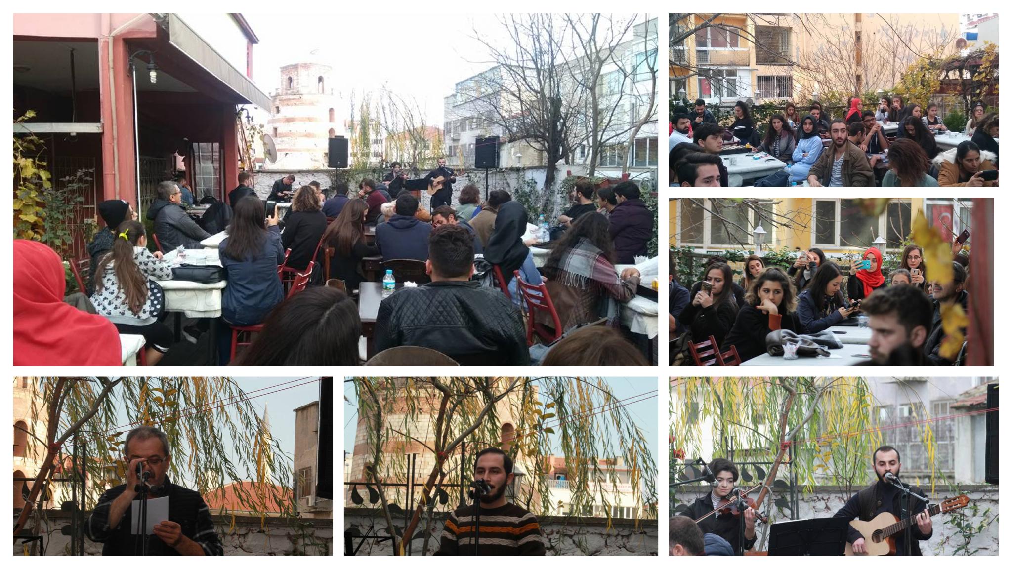 NHKM Edirne'nin ikinci yılında etkinlik düzenlendi