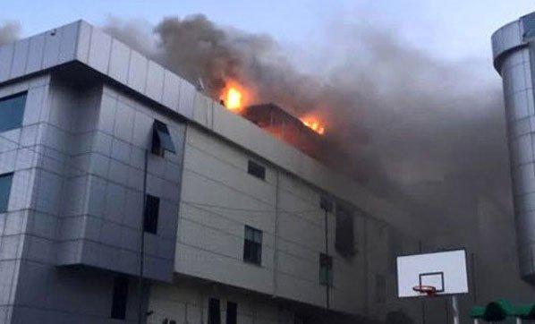 Bağcılar'da fabrikada patlama
