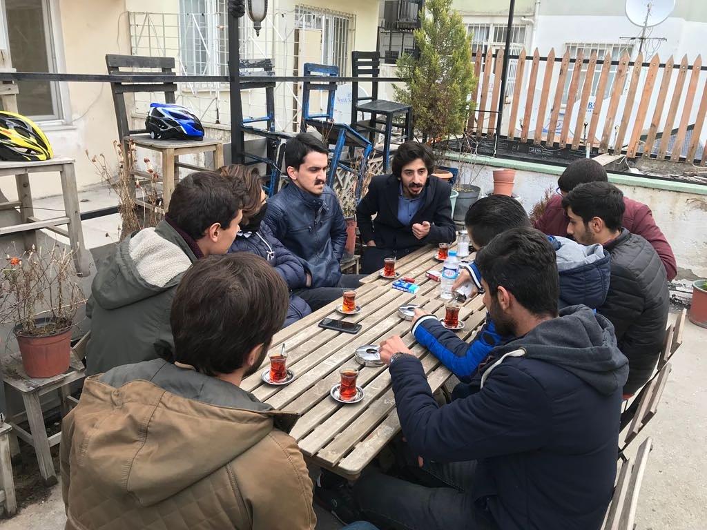 TKH Gençliği'nden Uşak'ta'Memleket Sohbetleri' etkinliği