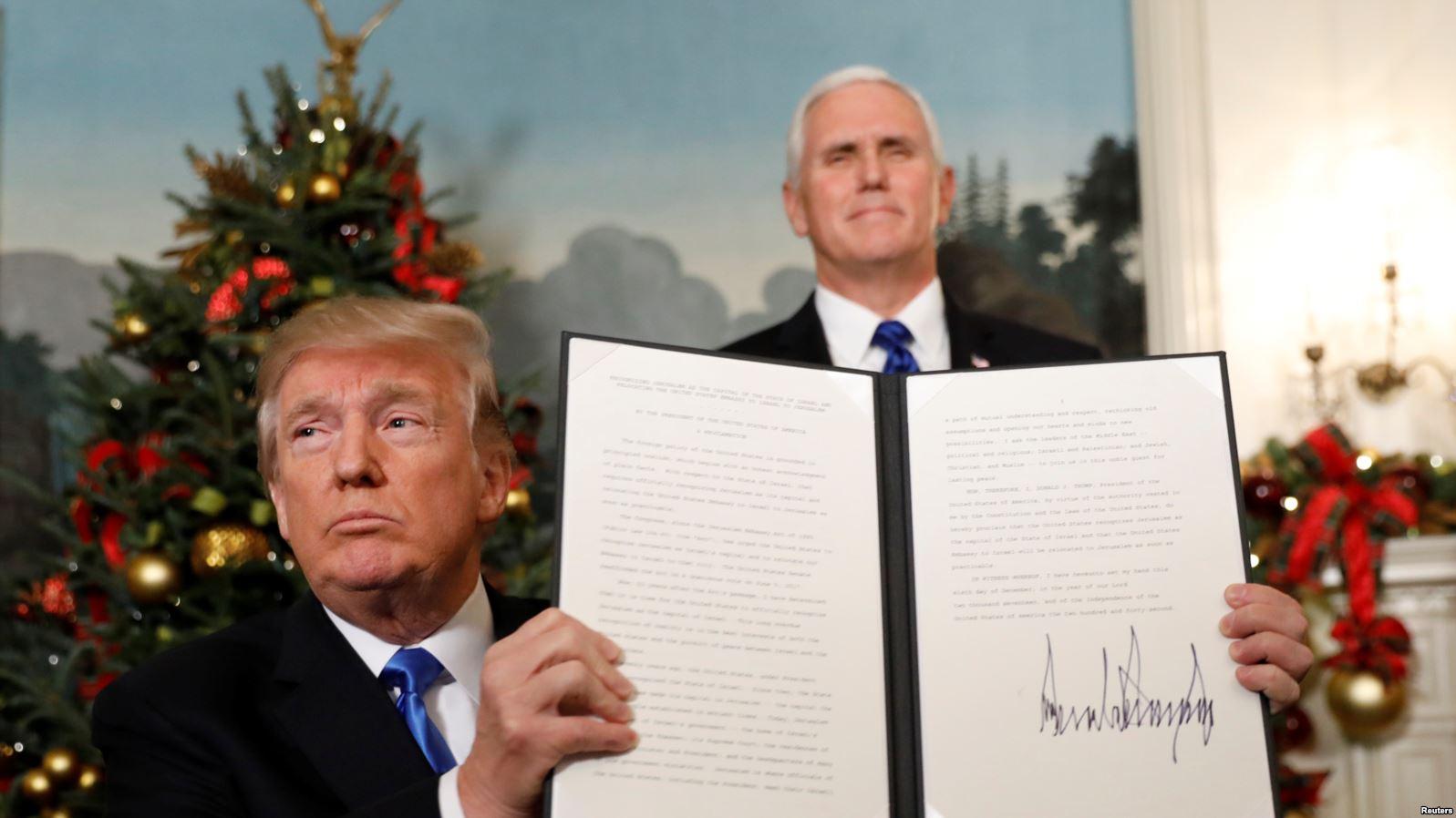 ABD'nin Kudüs kararına farklı ülkelerden ilk tepkiler gelmeye başladı
