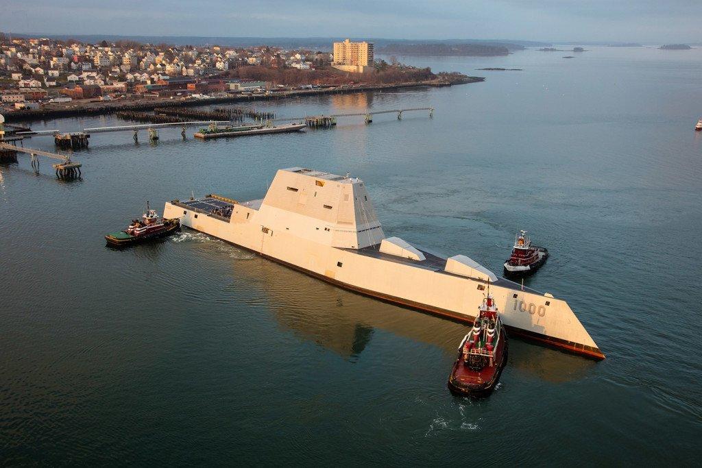 ABD'nin yeni gemisi test aşamasında bozuldu