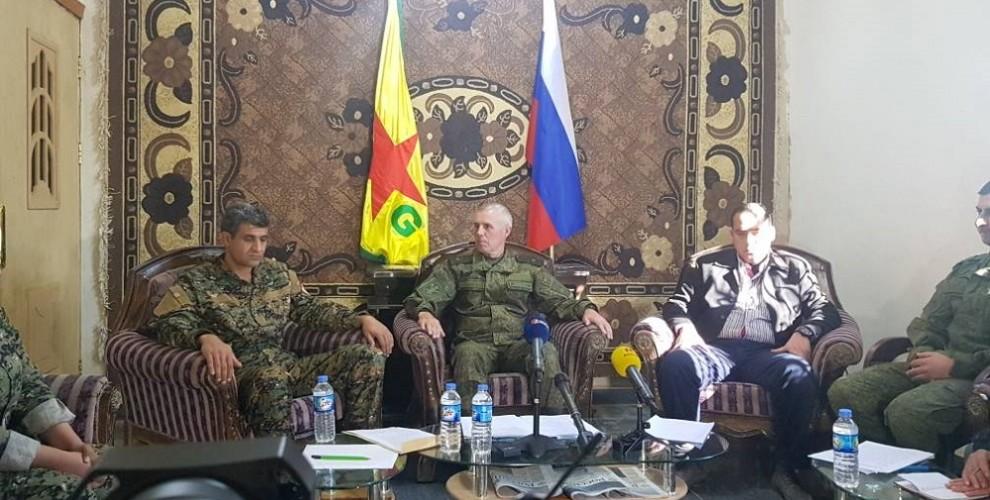 YPG'den Soçi açıklaması: 'Rusya söz verdi'