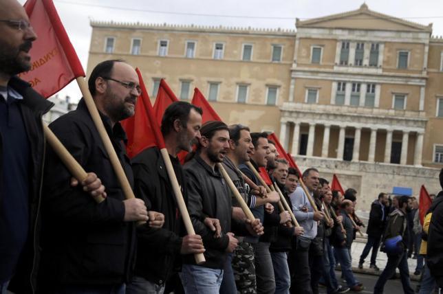 Yunanistan'da emekçiler genel greve gidiyor