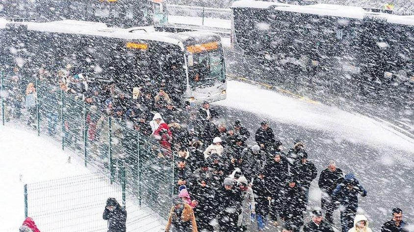 İstanbul'da kar 'ısı adası' nedeniyle yağmıyor