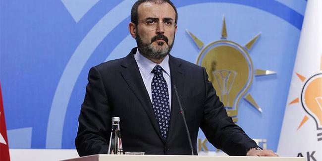 AKP Sözcüsü ÖSO'yu sahiplendi