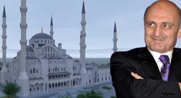Eski bakan Bayraktar 30 milyon liraya cami yaptırıyor!
