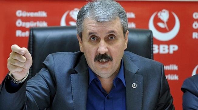 BBP'li Destici: ABD büyükelçiliğine sıkılan kurşunlar Türkiye'nin istikrarını ve itibarını hedef almıştır